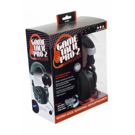 Casque + Micro Sans Fil Gaming Datel Game Talk Pro 2 Pour Ps3