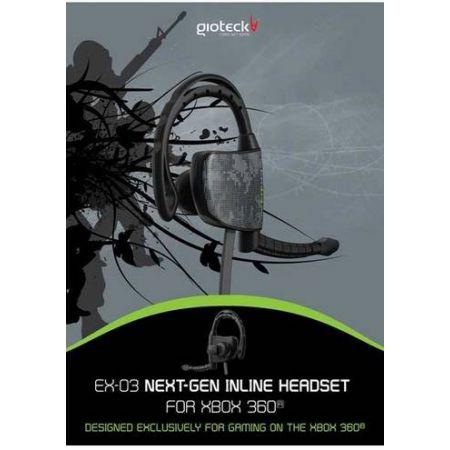 Casque Oreillet intra-auriculaire Gioteck Ex-03 Pour Xbox 360