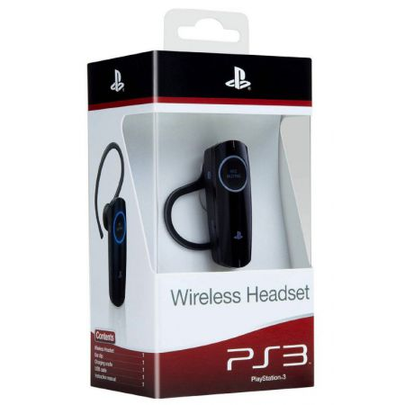 Casque Oreillette Bluetooth Sans Fil Ps3 Sony Officielle - APS38198