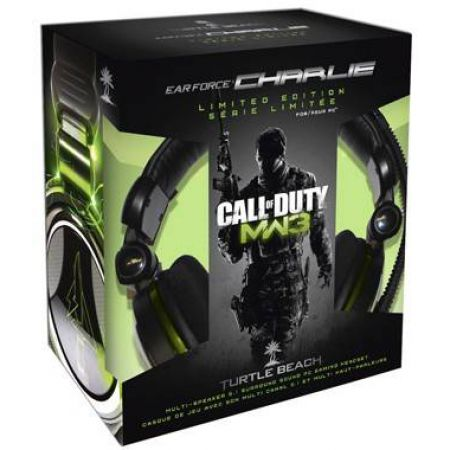 Casque Pc 5.1 Turtle Beach Ear Force Charlie Edition Limitée Call Of Duty MW3