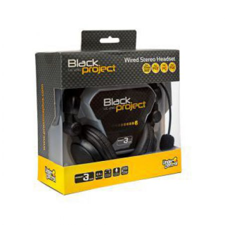 Casque Under Control Gaming Filaire Xbox 360 Ps3 Ps4 Pc