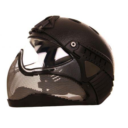 Casque WARQ Raptor protection Intégrale – Noir