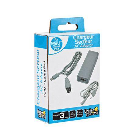 Chargeur Adaptateur Secteur Manette GamePad Console Nintendo Wii U