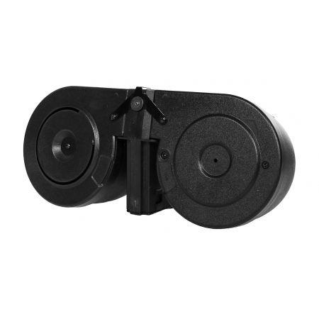 Chargeur AEG 2500 Billes Drum Magazine Double Tambour Type M4 M15 M16 - S&T