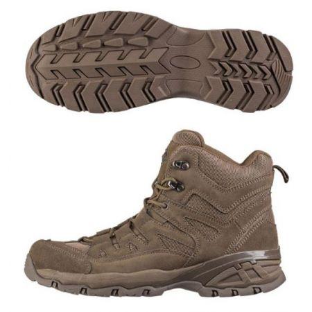 Chaussures Squad Mid Tactique Miltec - Coyote