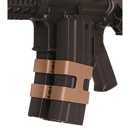 Clip Coupleur de Chargeurs M4 M15 M16 Masada S&T Armament Tan - ST44052