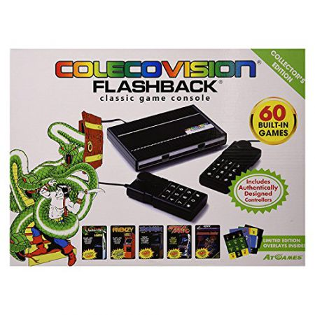 Console Colecovision Flashback Collector Edition + 60 Jeux + 2 Manettes