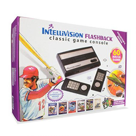 Console Mattel Intellivision Flashback Collector Edition + 60 Jeux + 2 Manettes