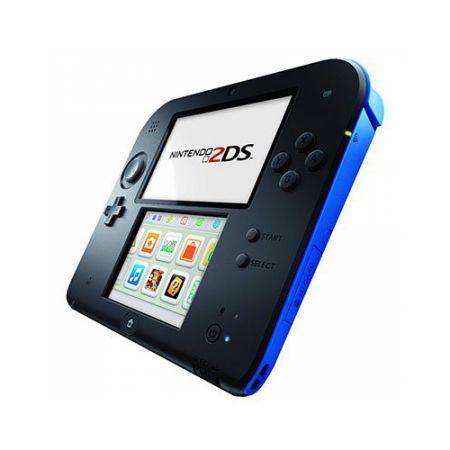 Console Nintendo 2Ds Noir & Bleu + Jeu New super Mario Bros 2