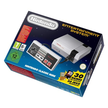 Console Nintendo NES Mini Classic + 30 jeux - (Entertainment System)