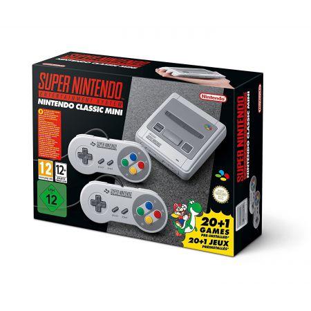 Console Nintendo Super NES Mini SNES + 2 Manettes + 21 Jeux
