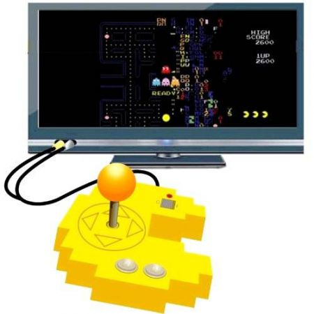 Console Plug & Play 12 jeux PACMAN (PAC MAN) Galaxian & Galaga