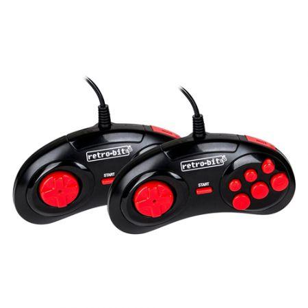 Console Retro-Bit Generation + 100 Jeux + 2 Manettes - Noire