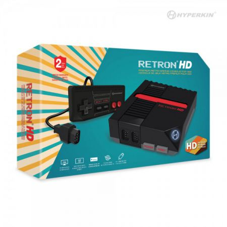 Console RetroN 1 HD - Nintendo Mini NES - Hyperkin - Noir