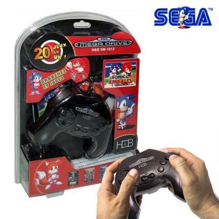 Console Sega Megadrive + 20 Jeux SM-1812