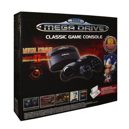 Console Sega Megadrive MD Edition Mortal Kombat + 80 Jeux + 2 Manettes Sans Fil - CMD3870