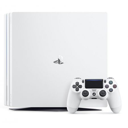 Console Sony PS4 Pro 1TO - Playstation 4 - Blanche