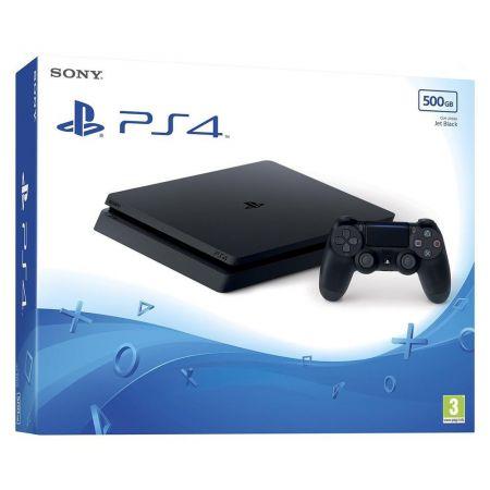 Console Sony Ps4 Slim 500 GO + Jeu Qui es-tu ? Playstation 4 - Noire