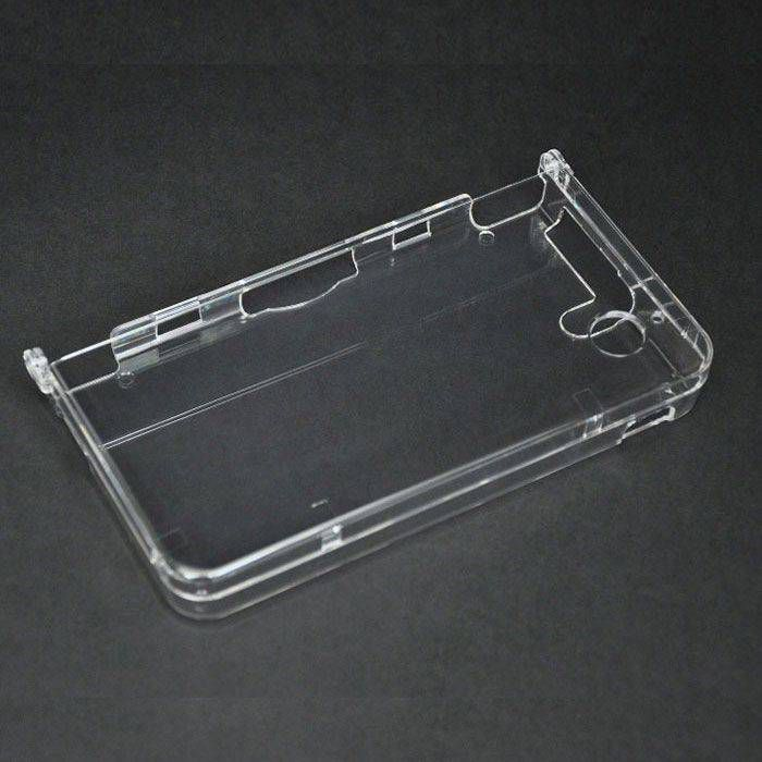 coque cristal transparente pour console nintendo dsi xl uc2605 jeu. Black Bedroom Furniture Sets. Home Design Ideas