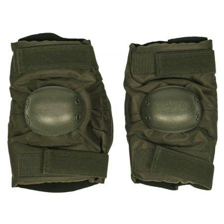 Coudières Protège Coude Swat - Coque Rigide Miltec Olive - 16232201
