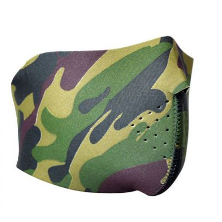 Demi Masque Protection Neoprene Bas Visage Camo (Camouflage)- 67125