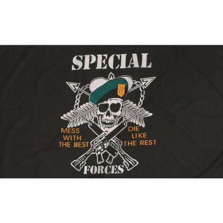 Drapeau Flag Armée Militaire Forces Speciale US USA 150x90cm - Miltec 16789000