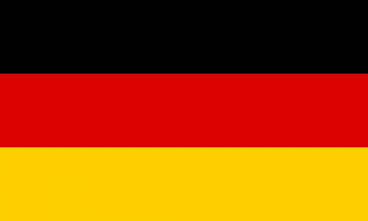 drapeau flag europe pays allemagne allemand 150x90cm polyester. Black Bedroom Furniture Sets. Home Design Ideas