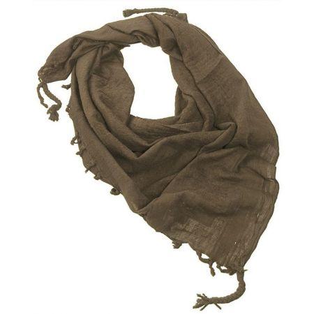 Echarpe Shemagh Keffieh (Kéfié) Cheche Vert Olive 110x110cm - Couvre Tete - Miltec 12616000