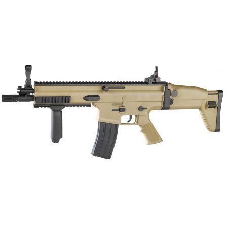 Fusil à Billes FN Herstal SCAR-L SCAR L Spring Dark Earth - Cybergun 200705