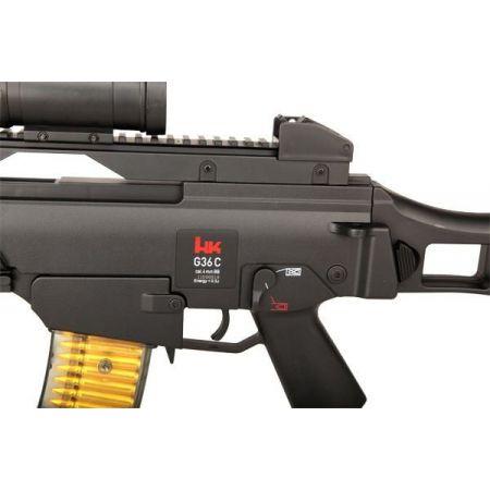 Fusil à Billes HK G36C Spring Noir (H&K Heckler & Koch G36) - 25620
