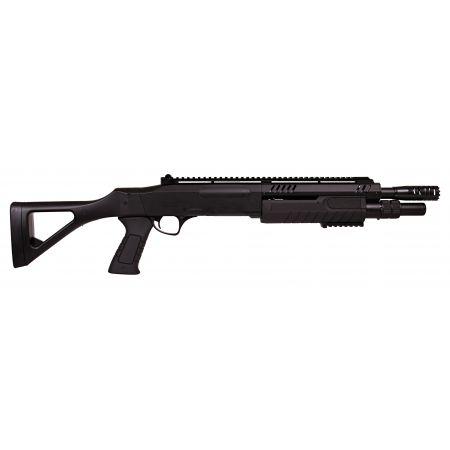 Fusil à Pompe FABARM STF 12-11 Compact Spring Noir BO Manufacture - LR3002