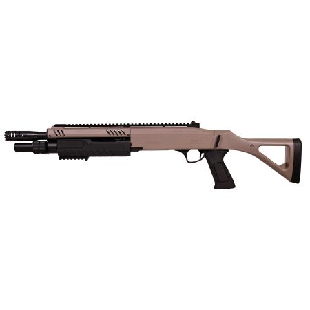 Fusil à Pompe FABARM STF 12-11 Compact Spring Tan BO Manufacture - LR3003