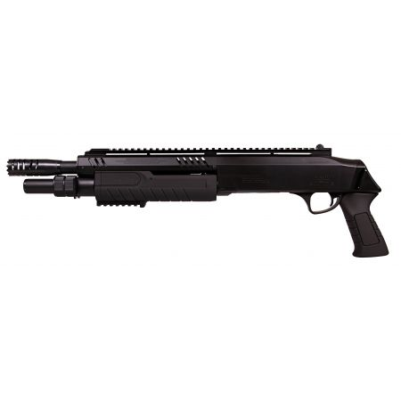 Fusil à Pompe FABARM STF 12-11 Short Spring Noir BO Manufacture - LR3004