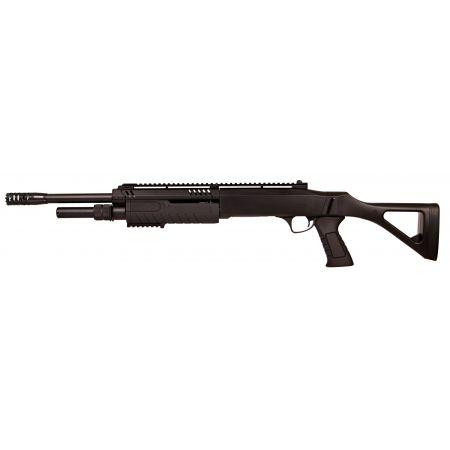 Fusil à Pompe FABARM STF 12-18 Long Spring Noir BO Manufacture - LR3000