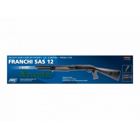 Fusil A Pompe Franchi SAS 12 (3 Burst) Spring ASG 16061