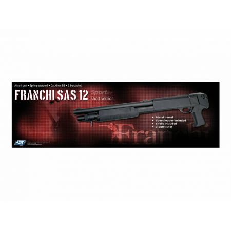 Fusil A Pompe Franchi SAS 12 Short Version 3 Burst 16261