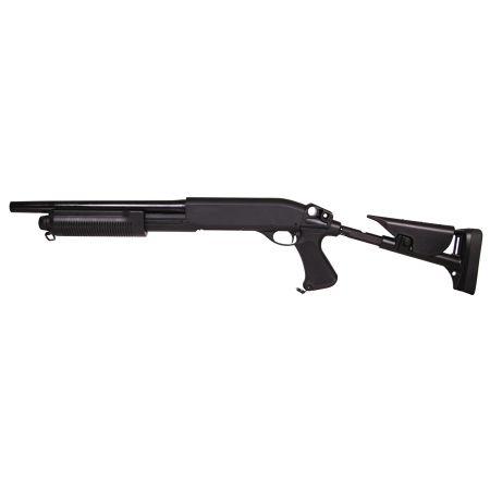 Fusil à Pompe M870 Shotgun MS Spring Full Metal 3 Burst Swiss Arms 280730