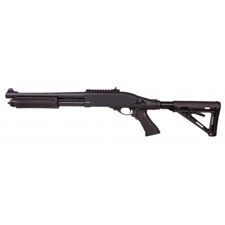 Fusil à Pompe Shotgun Secutor Velites G-III M870 CQB Gaz Noir - SAV0005