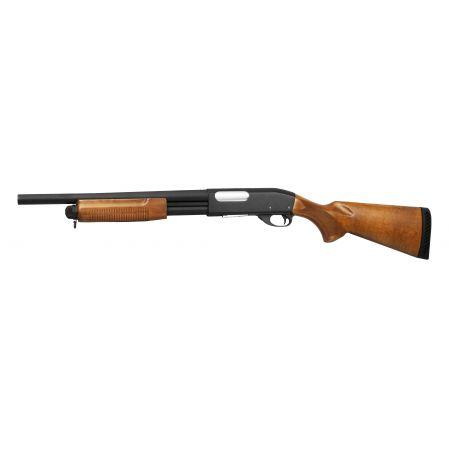 Fusil à Pompe Spring S&T ST870 (ST 870) Police Magnum - Métal & Bois - ST-SPG-07