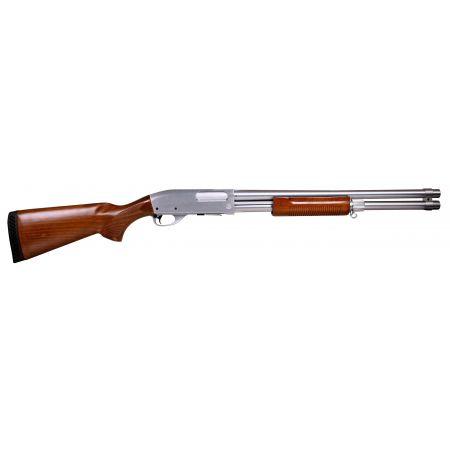 Fusil à Pompe Spring S&T ST870 STD Magnum Silver - Métal & Bois - ST-SPG-06-S