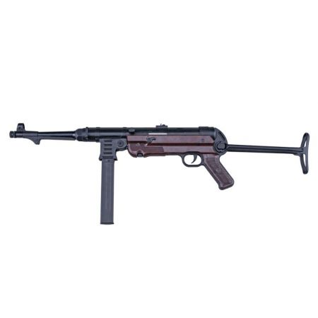 Fusil AGM MP40 MP007 AEG (MP Maschinenpistole) Full Metal Noir et Marron - PAL-AEG-9987