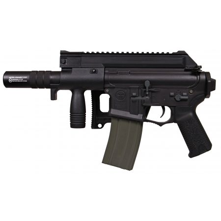Fusil Amoeba M4 CCC-S CQB AEG + Silencieux ARES Noir - AM-006-BK