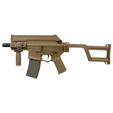 Fusil Amoeba M4 CCR CQB AEG ARES Tan - AM-001-DE
