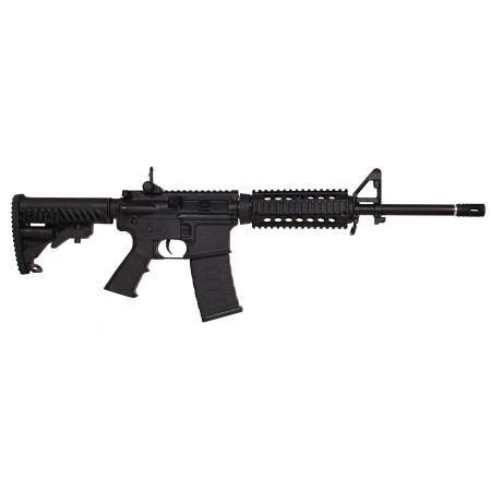 Fusil APS M4 (M4A1) RIS Kompetitor AEG PR Series Blowback Noir - PR302B