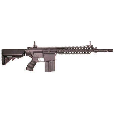 Fusil Avengers Carbine M4 SR-25K DMR AEG S&T - Noir