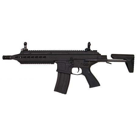 Fusil CA M4 Scarab SAR CQC Keymod AEG Full Metal Classic Army Noir CA106M