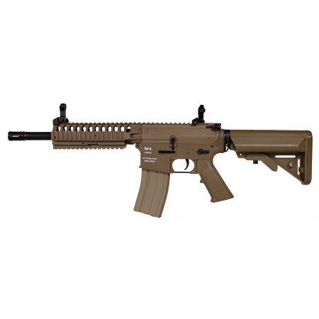 Fusil CA4 M4 M15 CA4A1 EC1 CQB Classic Army AEG Dark Earth - NF002P-DE