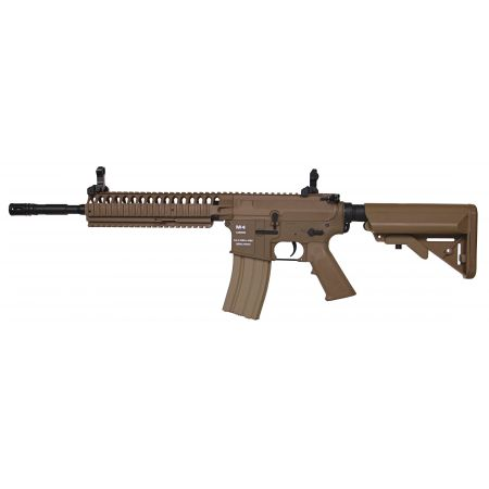 Fusil CA4 M4 M15 Long CA4A1 EC2 Classic Army AEG Dark Earth - NF001P-DE