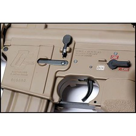 Fusil Carbine GC16 Raider-S DST M4 RIS CQB Full Metal G&G Tan - S10191