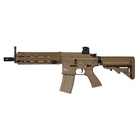 Fusil Classic Army M4 CA416 CQB (HK 416 HK416D) AEG Dark Earth - SP046P-ST-DE